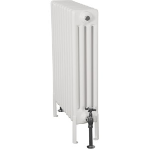 Home-Refresh-Enderby-4-Column-10-Section-Steel-Radiator-710mm-Farrow-and-Ball-White-Colour-Finish