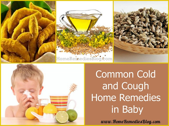 Home Remedies For common Cold in Infants