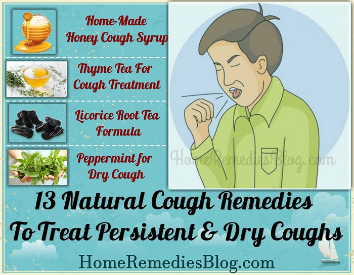 13 Natural Remedies To Treat Persistent & Dry Coughs - Home