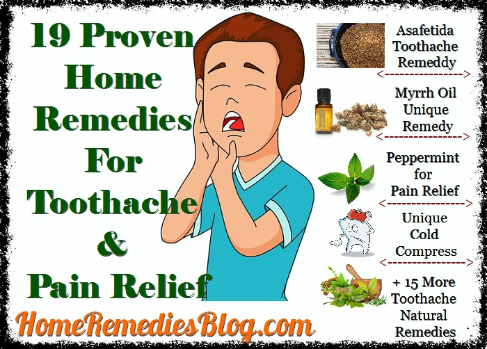 19 Proven Home Remedies To Stop Your Toothache Home