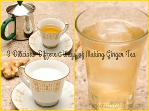 3 Different Ways of Making Ginger Tea [with picture]
