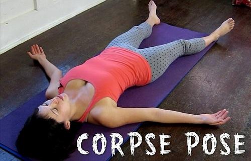 Savasana Yoga position