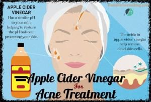 Apple Cider Vinegar for Acne - 13 Ways For Fast Results