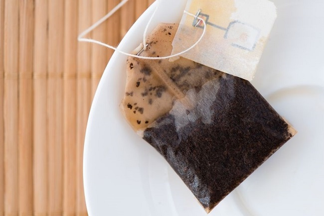 Black Tea Bag Warm Compress For Stye Eye