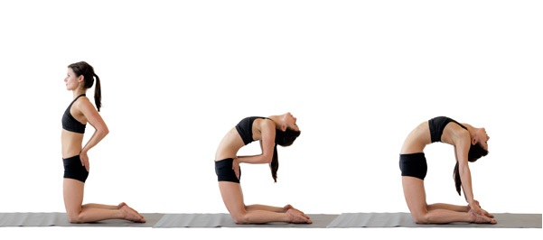 Increase Breast Size With Camel Pose