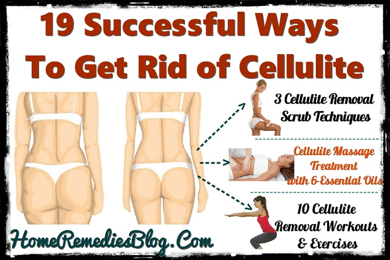 how to get rid of cellulite with home products
