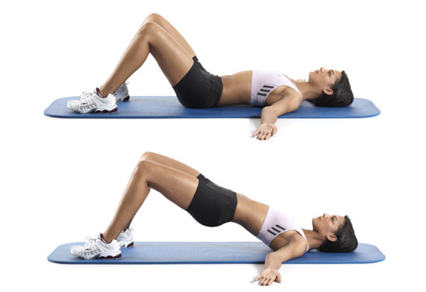 Hips Lift Workout for cellulite Stomach and Buttocks