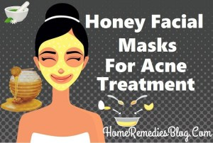 Honey Facial Mask For Acne home Treatment
