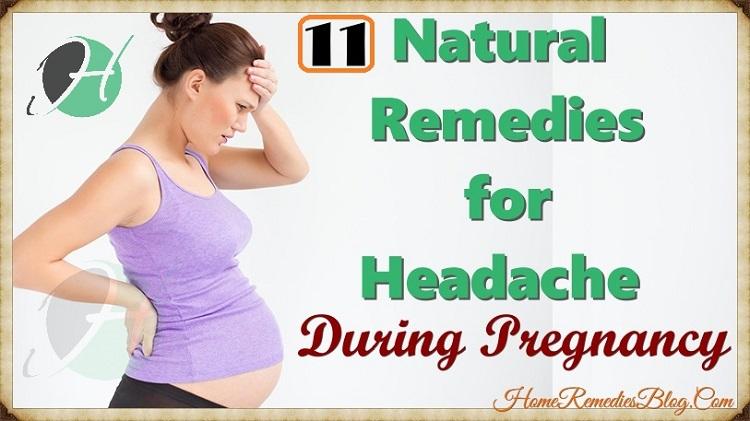 11 Natural Remedies for Headache During Pregnancy ...