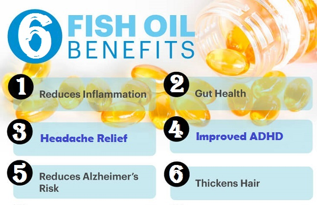 6 Fish Oil Benefits