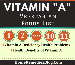 11 Vitamin A Rich Foods (Vegetarian)