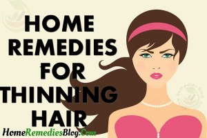 10 Home Remedies For Thinning Hair