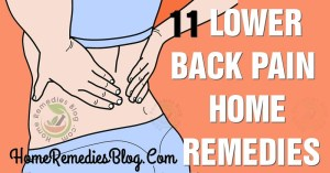 11 Proven Home Remedies For Lower Back Pain Relief