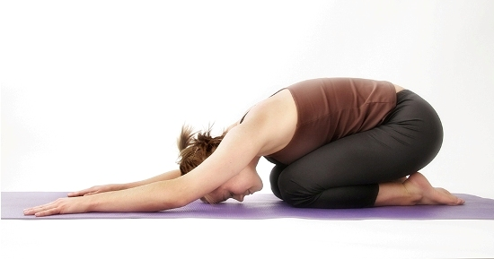 Child Pose For Back Pain Relief