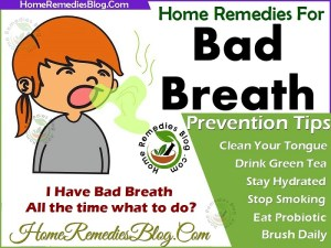 13 Best Home Remedies For Bad Breath Treatment