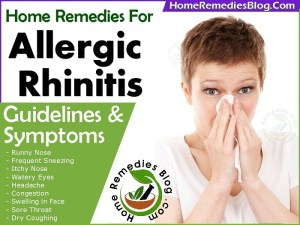 Most Effective Home Remedies for Allergic Rhinitis With Guidelines