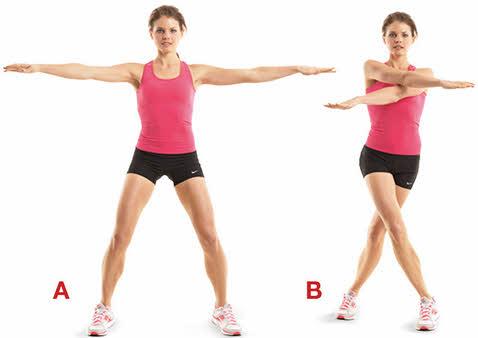 Standing Scissors Workout
