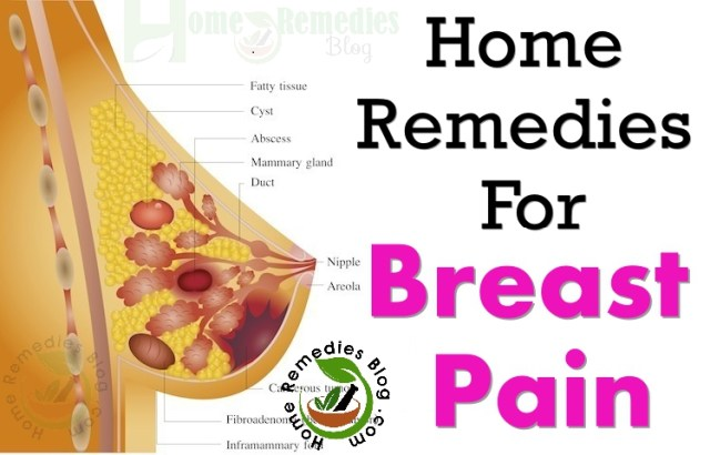 Home Remedies To Get Rid of Breast Pain
