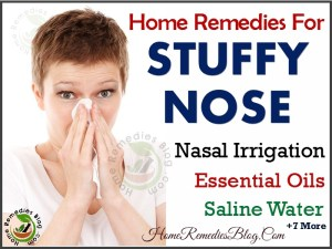 7 Home Remedies To Get Rid of Stuffy Nose Fast