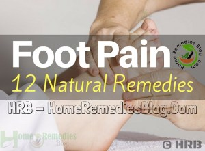 12 Effective Home Remedies to Treat Foot Pain Quickly