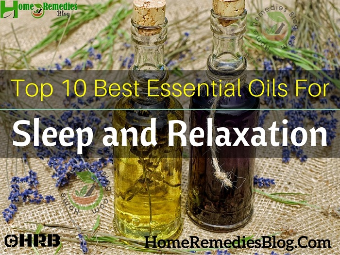 Top 10 Best Essential Oils For Sleep And Relaxation Home