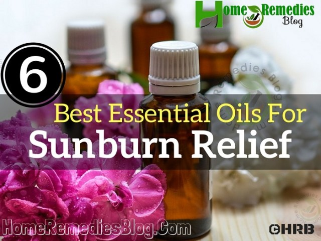 Top 6 Essential Oils For Sunburn and How To Use Them