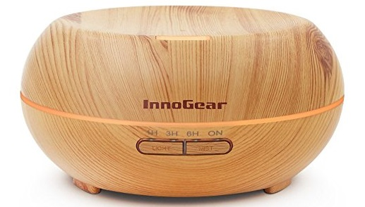 InnoGear Aromatherapy Essential Oil Diffuser (Ultrasonic Cool Mist)