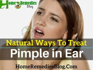 9 Natural Ways to Get Rid of Pimple in Ear