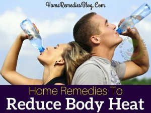 How To Reduce Body Heat Naturally
