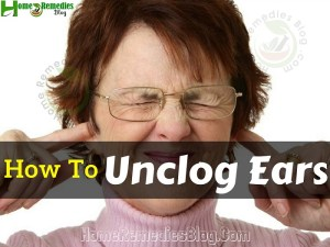 How To Unclog Ears At Home