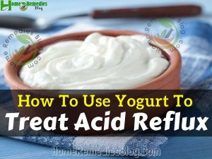 How To Use Yogurt For Acid Reflux