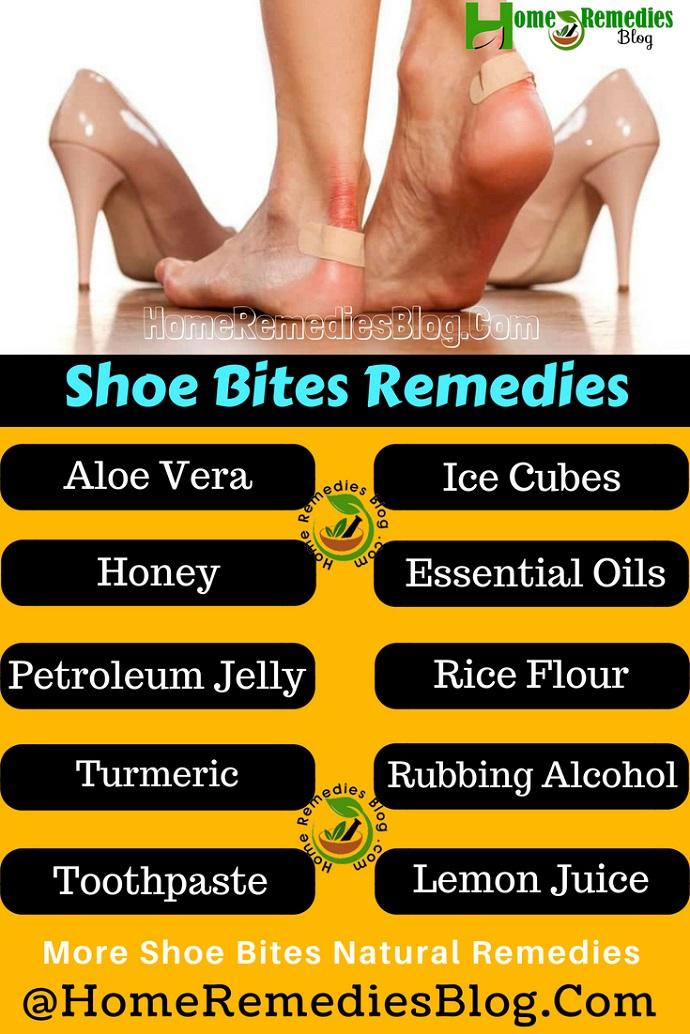 Shoe Bites Home Treatment Infographics