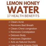 health benefits of honey lemon drinkhealth benefits of lemon honey water