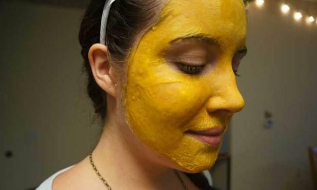 moisturizing cream of turmeric