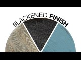 How to Apply a Blackened Finish to a Wooden Side Table
