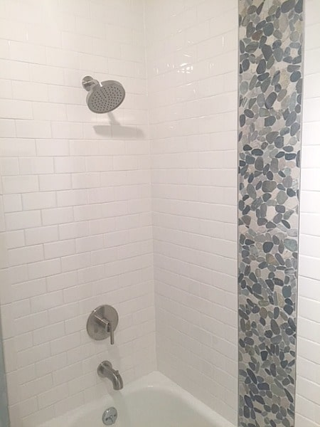 william s finished tub shower combo