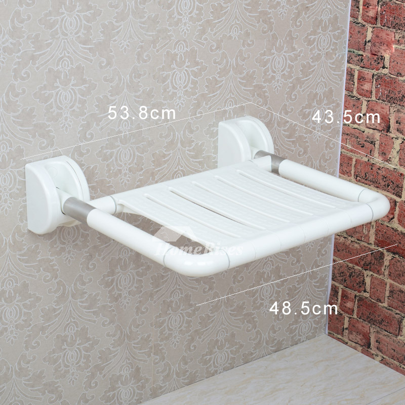 HN Wall Mounted Stainless Steel Folding Shower Seats For