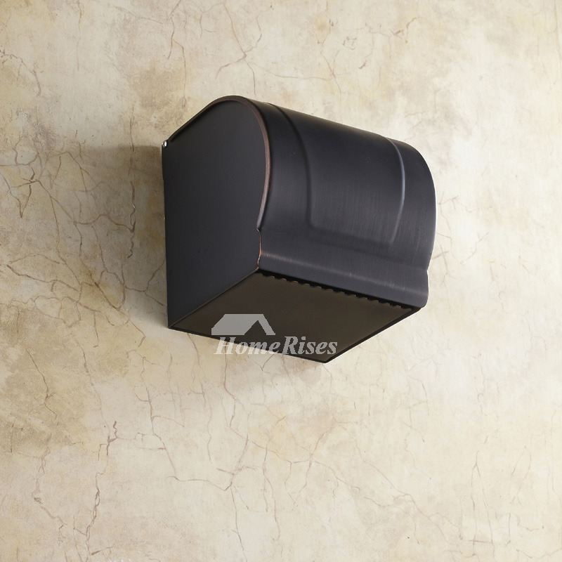 Black Brushed Oil Rubbed Bronze Wall Mounted Toilet Paper