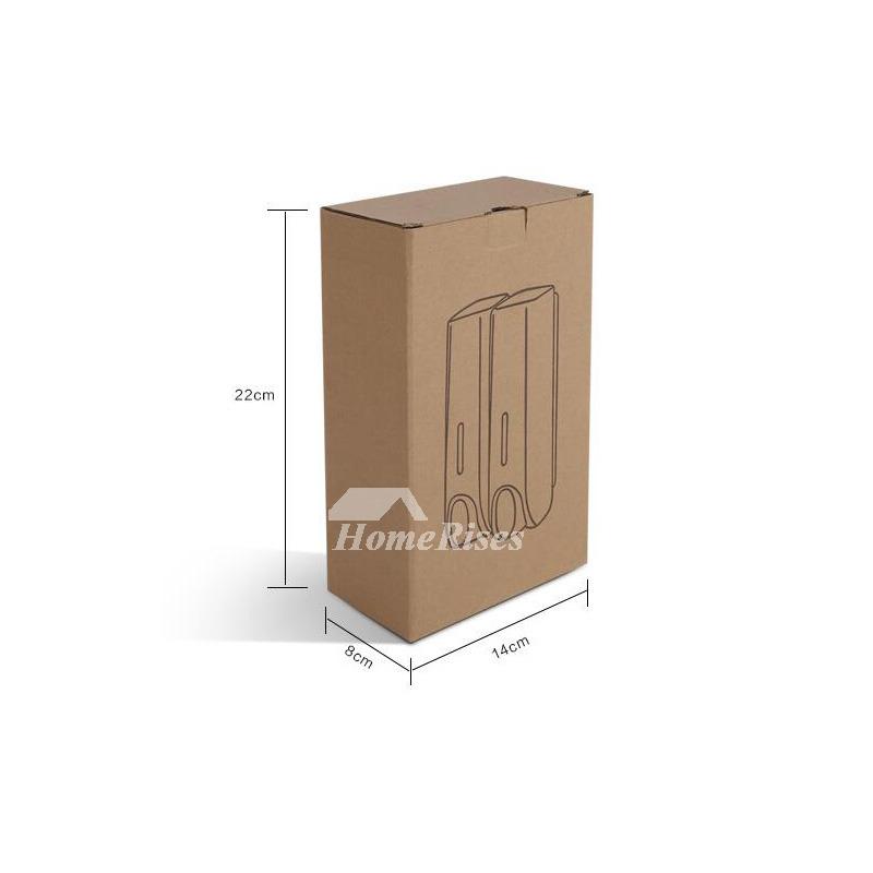 Cheap Soap Dispenser White SingleDoubleThree Manual