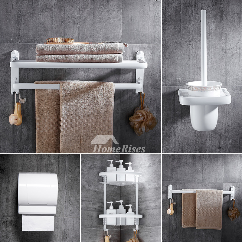 piece aluminum painting cheap bathroom accessories sets