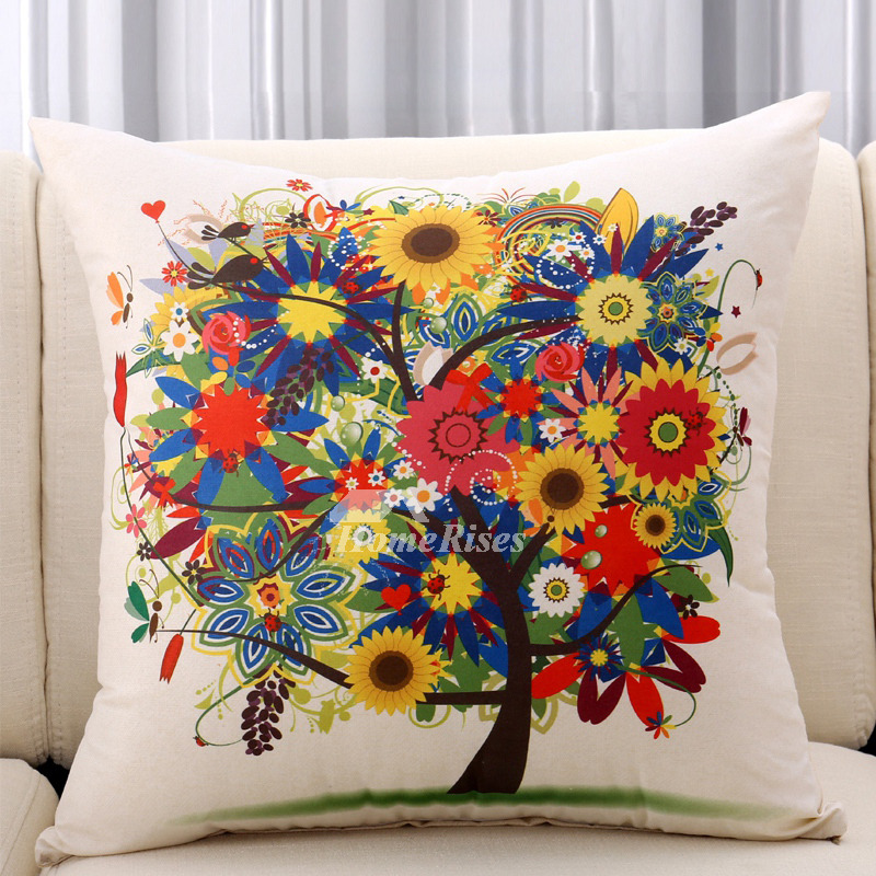 Get expert tips on selecting and decorating with throw pillows. Decorative Throw Pillows For Couch Cream/Red Polyester ...