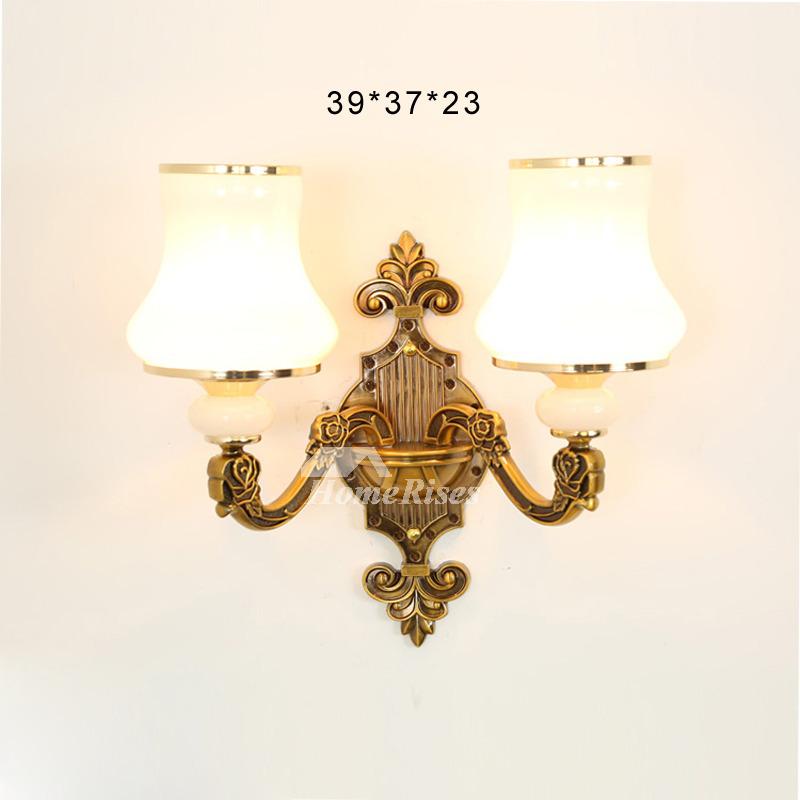 Crystal Wall Sconce Lighting Bathroom Art Deco 2 Light ... on Bathroom Wall Sconce Lighting id=12540