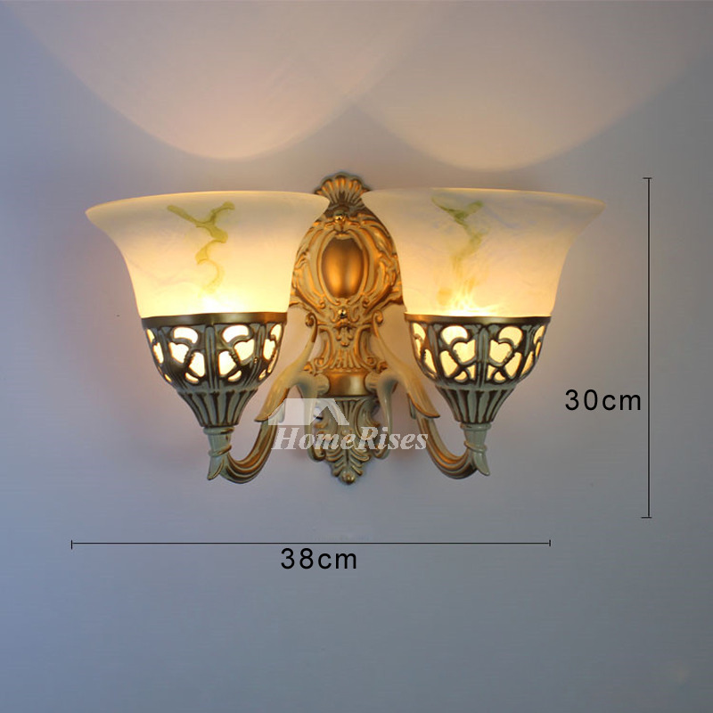 Art Deco Wall Sconces Decorative Lightiing Glass Alloy 2 ... on Discount Wall Sconces id=20680