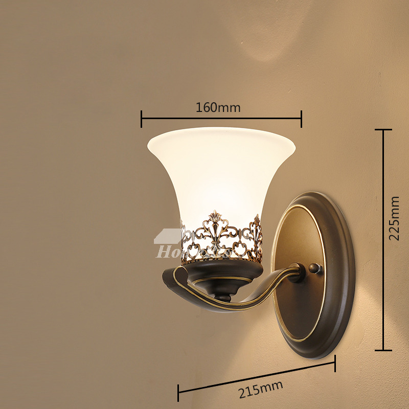 Wall Light Fixtures Wall Mounted Sconce Outdoor Vintage ... on Wall Sconce Lighting Decor id=32307
