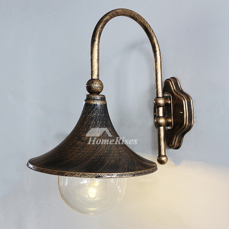 Outdoor Metal Wall Sconces Glass Vintage Lighting Art Deco ... on Discount Wall Sconces id=70821
