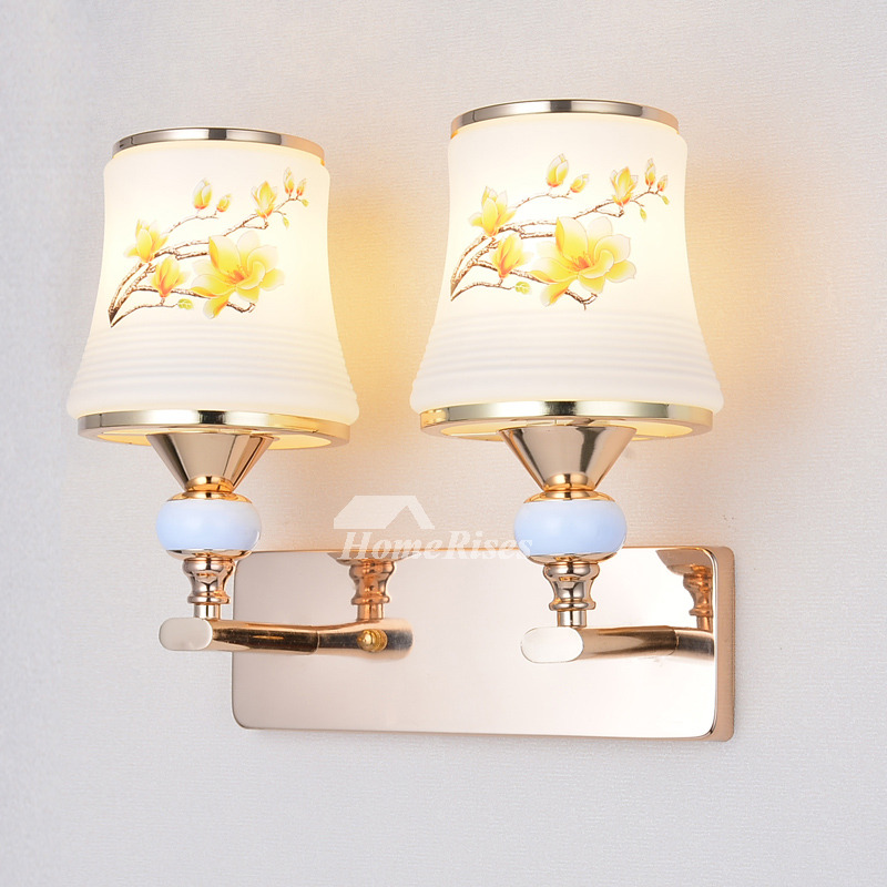 Wall Light Fixture For Bedroom Mounted Decorative 2 Light ... on Wall Mounted Decorative Lights id=77028