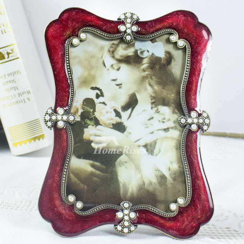 Small Picture Frames 4X65X78X10 Inch Vintage Decorative Resin