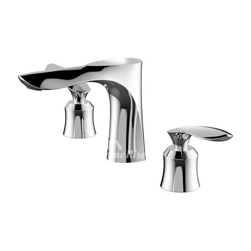 SilverBlackGold Oil Rubbed Bronze Tub Faucet 3 Hole
