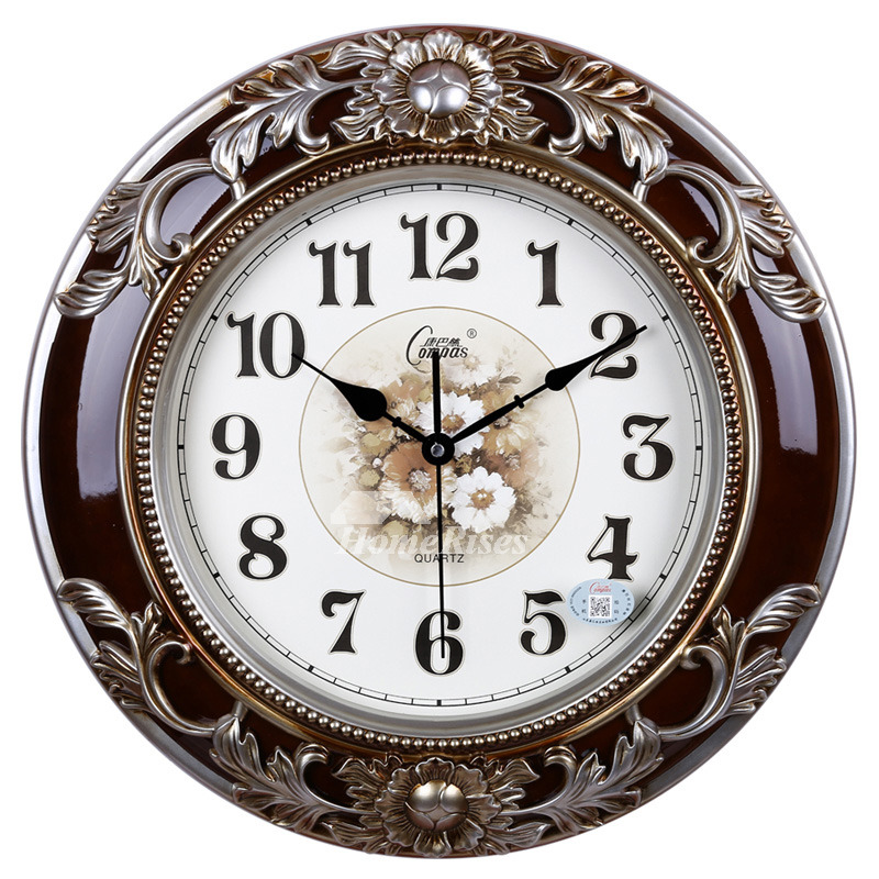 Decorative Large Country Wall Clocks Modern Silent Rustic