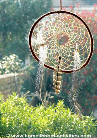 How To Make Dream Catchers Native Indian Crafts